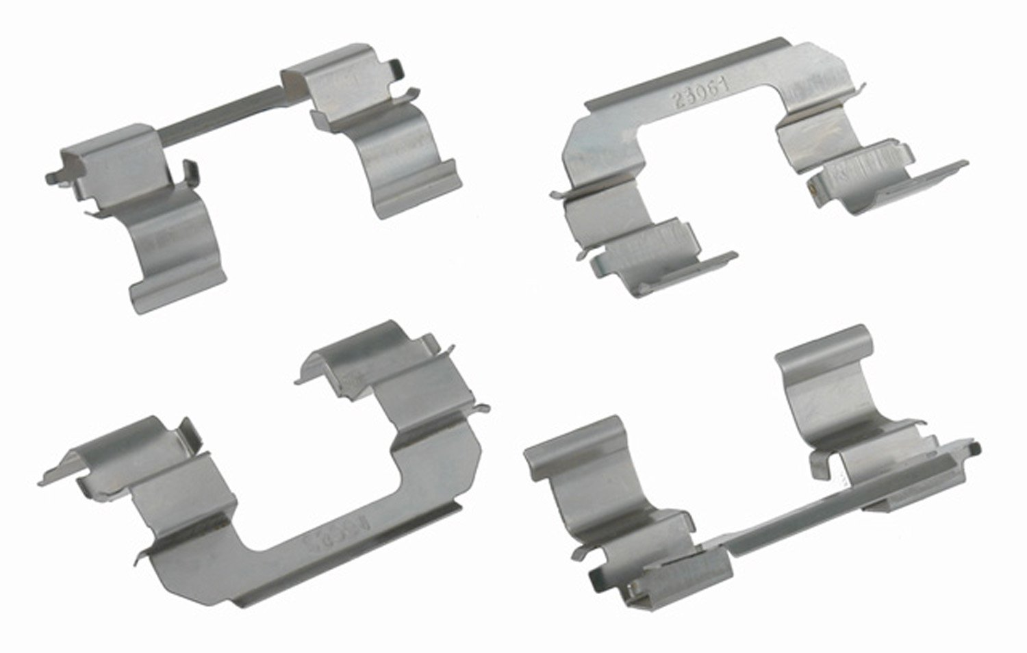 ACDelco 18K1687X Professional Front Disc Brake Caliper Hardware Kit with Clips