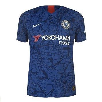 088c2165e3 Nike 2019-2020 Chelsea Home Vapor Match Football Soccer T-Shirt ...