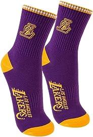 Meia Cano Medio Nba Los Angeles Lakers 39 - 43 Roxo