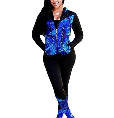 EnergyWomen - Chándal - para Mujer Azul Azul US Medium: Amazon.es ...