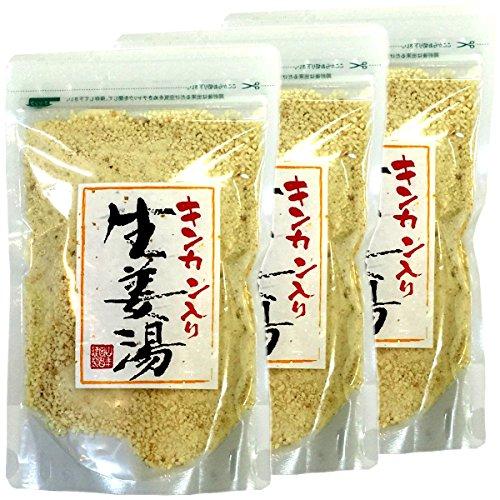 Japanese Tea Shop Yamaneen Kumquat Ginger Hot Water 300G x 3packs