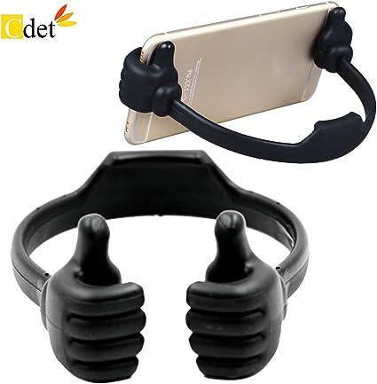 Cdet Soporte portátil Flexible Lindo Pulgar diseñado Smartphone ...