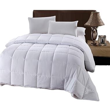 Royal Hotel's King / California-King Size Down-Alternative Comforter - Duvet Insert, 100% Down Alternative Fill