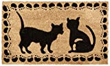 Kempf Cat Design Coco Doormat, Rubber Backed, 18 by 30 by 0.5-Inch