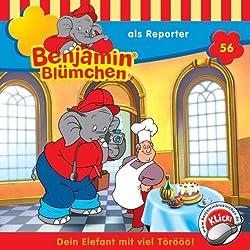 Benjamin als Reporter (Benjamin Blümchen 56)