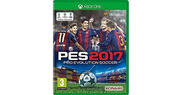 4dd8cad2aa Jogo PES 2017 Pro Evolution Soccer - Xbox One  Amazon.com.br  Games