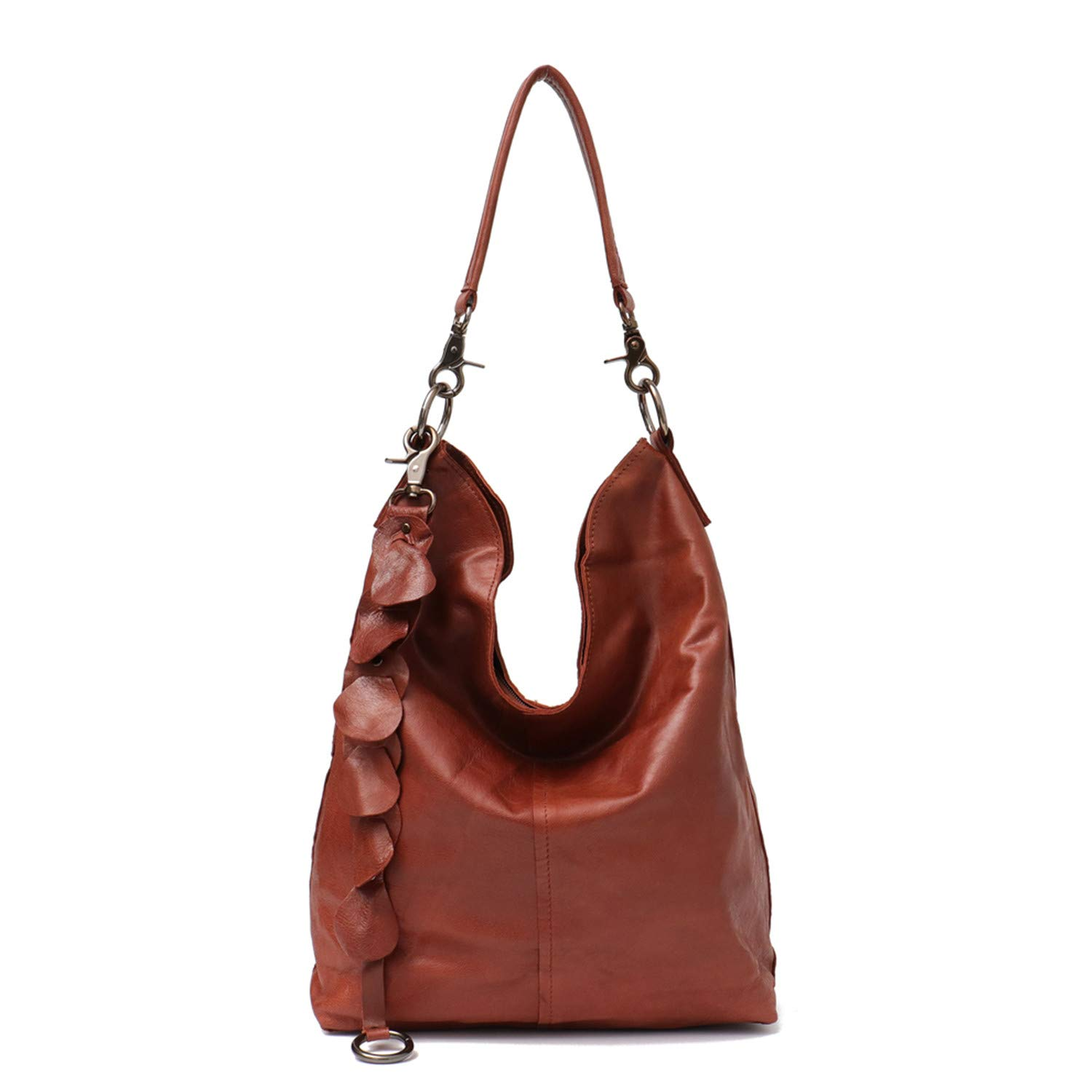 Big Women Handbags Genuine Leather Shoulder Bags Ladies Fashion TLarge Cross Body Bag Soft Real Leather Bags
