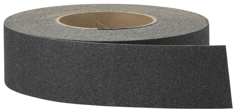 3m Safety Walk Anti Slip Tape 2'' X 60ft. Black For Steps , Ladders And Ramps Wood
