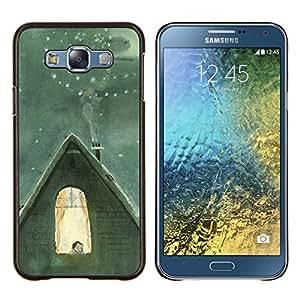 Stuss Case / Funda Carcasa protectora - Invierno famoso Catia Chien Núcleo - Samsung Galaxy E7 E700