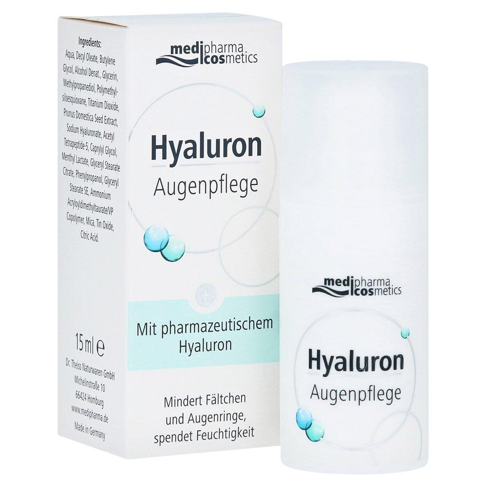 Medipharma Hyaluron Augenpflege Creme, 15 ml Dr. Theiss Naturwaren GmbH 12352307