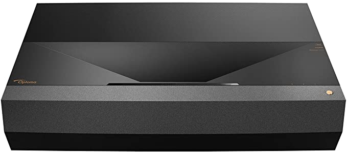 Optoma CinemaX P1 4K UHD Laser TV Home Theater Projector | Bright 3000 Lumens | Ultra Short Throw | Integrated NuForce Soundbar | Stream Netflix and ...