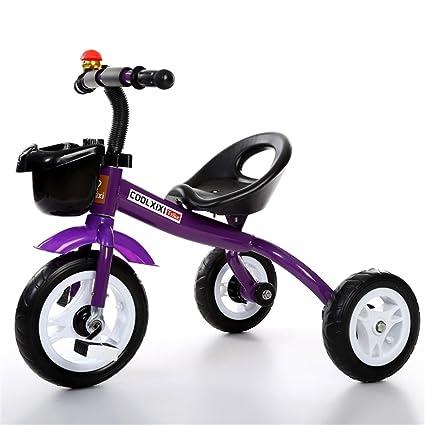 Triciclo de moda Carruaje de bebé Bicicleta Niño Juguete Coche Rueda inflable / Rueda de bicicleta