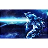 Yugioh Card Sleeves - Blue Dragon - 50ct