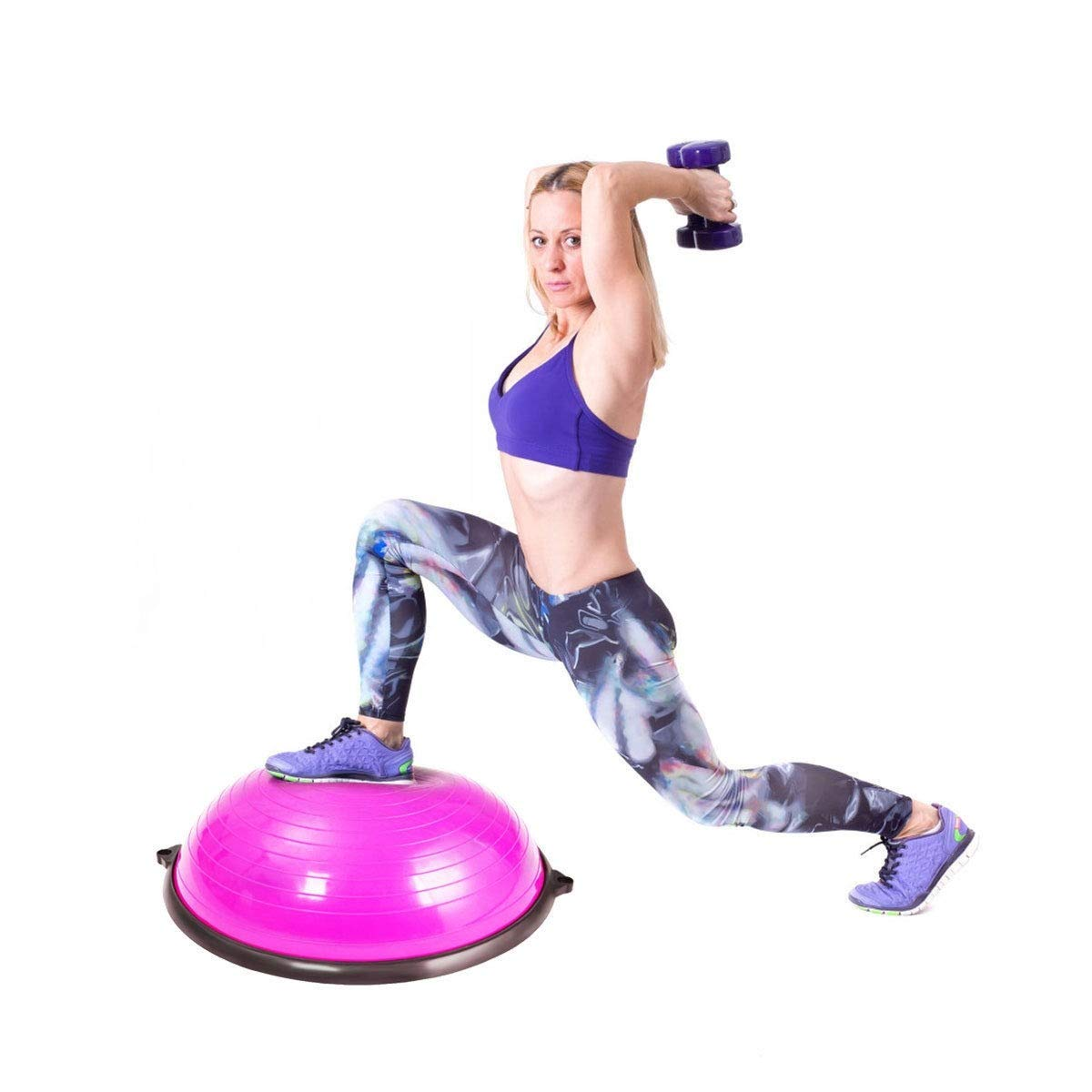 Amazon.com: MD Group Yoga Balance Exercise Ball with Pump ...