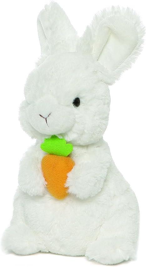 "8/"" Gray Gund Lil/' Wispers Bunny Standing"