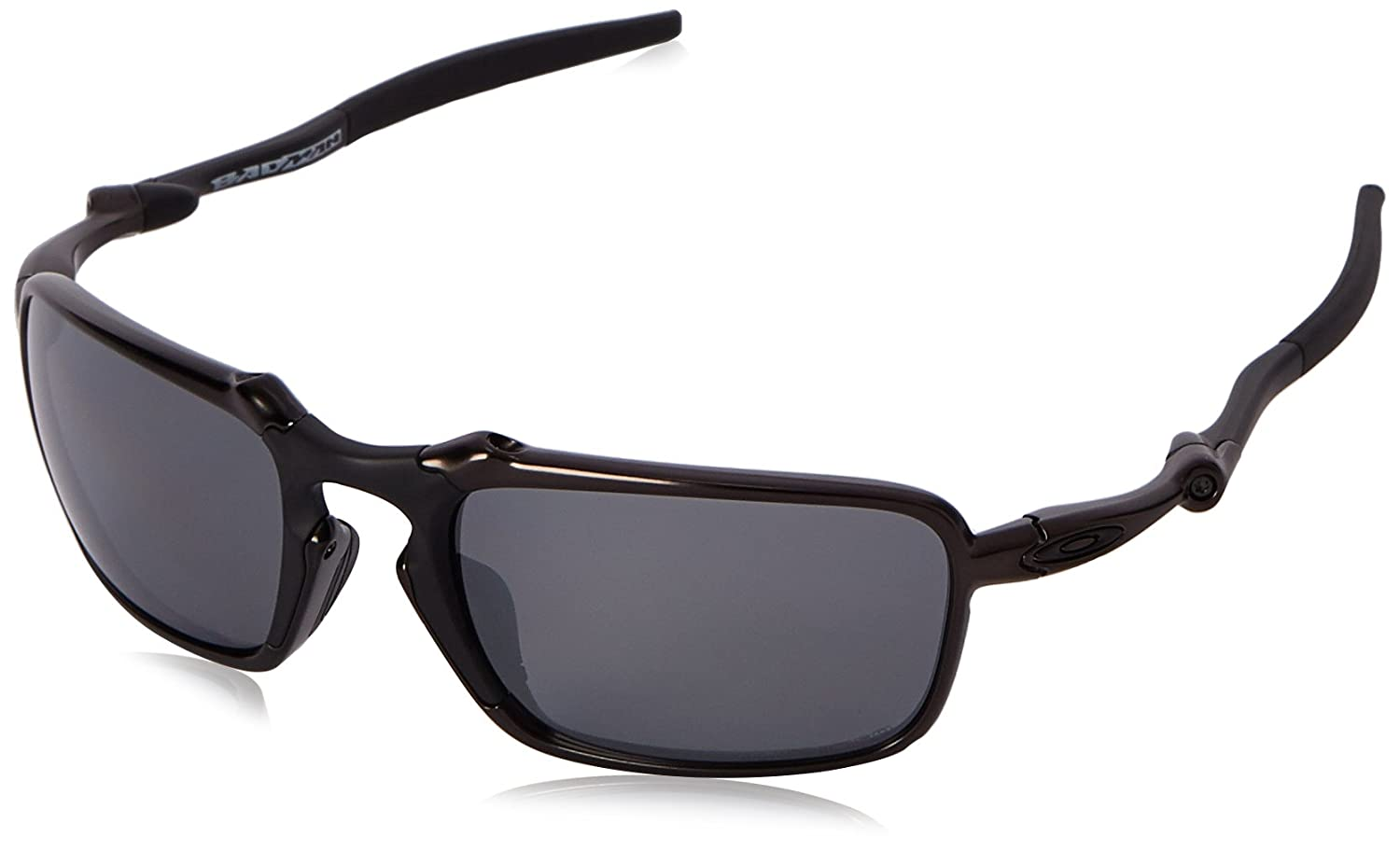 best deals on oakley sunglasses j4vv  Amazoncom: Oakley Men's Badman OO6020-01 Polarized Iridium Rectangular  Sunglasses, Dark Carbon, 60 mm: Clothing