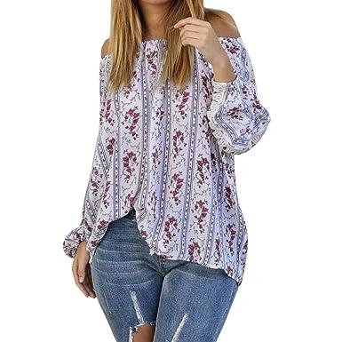 Damen Neu Kleidung Bluse Mode Freizeit Dame Rückenfrei Hemd Lang
