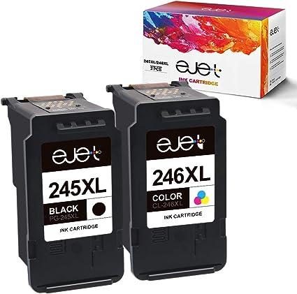 Amazon.com: ejet - Cartuchos de tinta de repuesto para ...