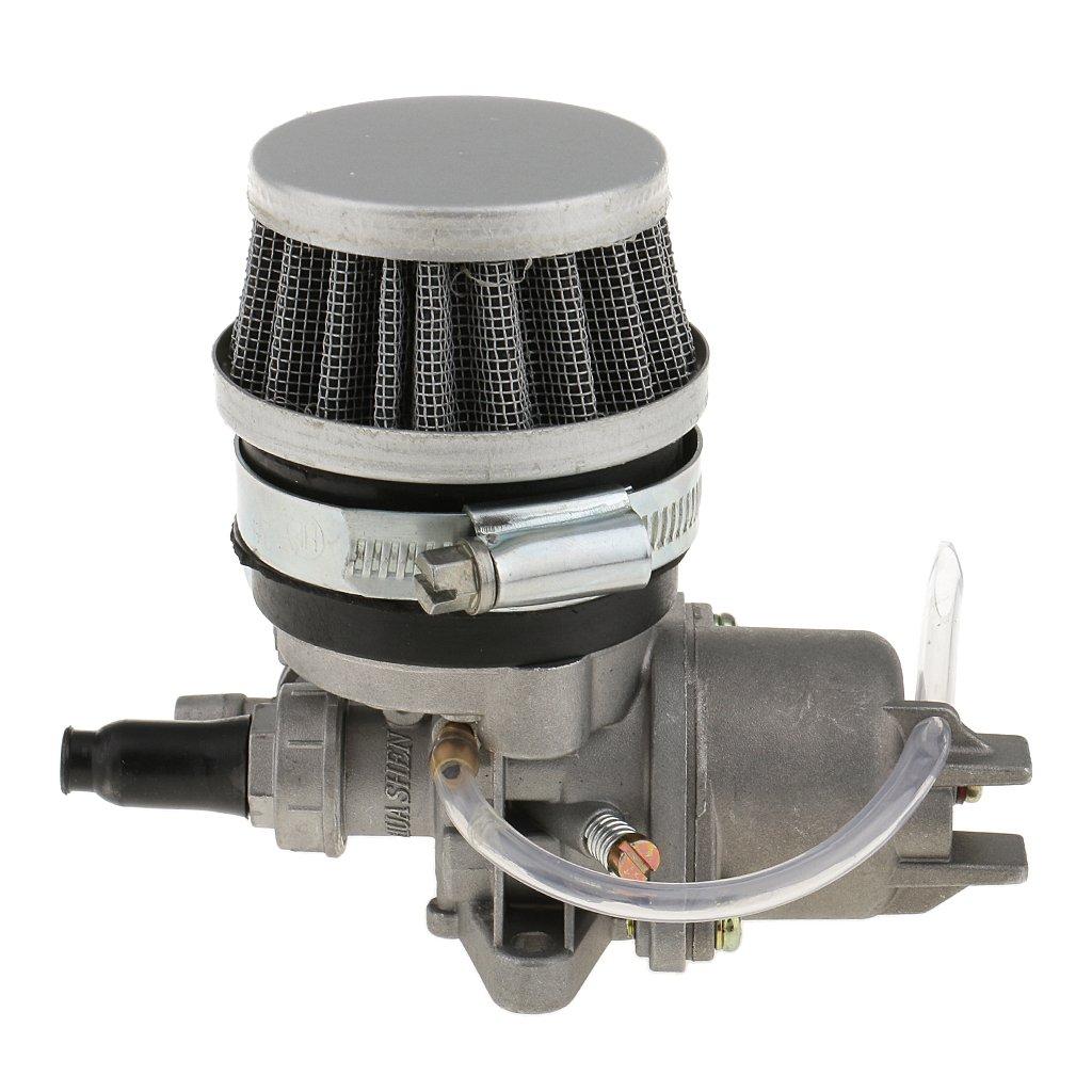 Shiwaki 13mm Carburatore Filtro dellAria 43cc Bicicletta ATV del Quadrato della