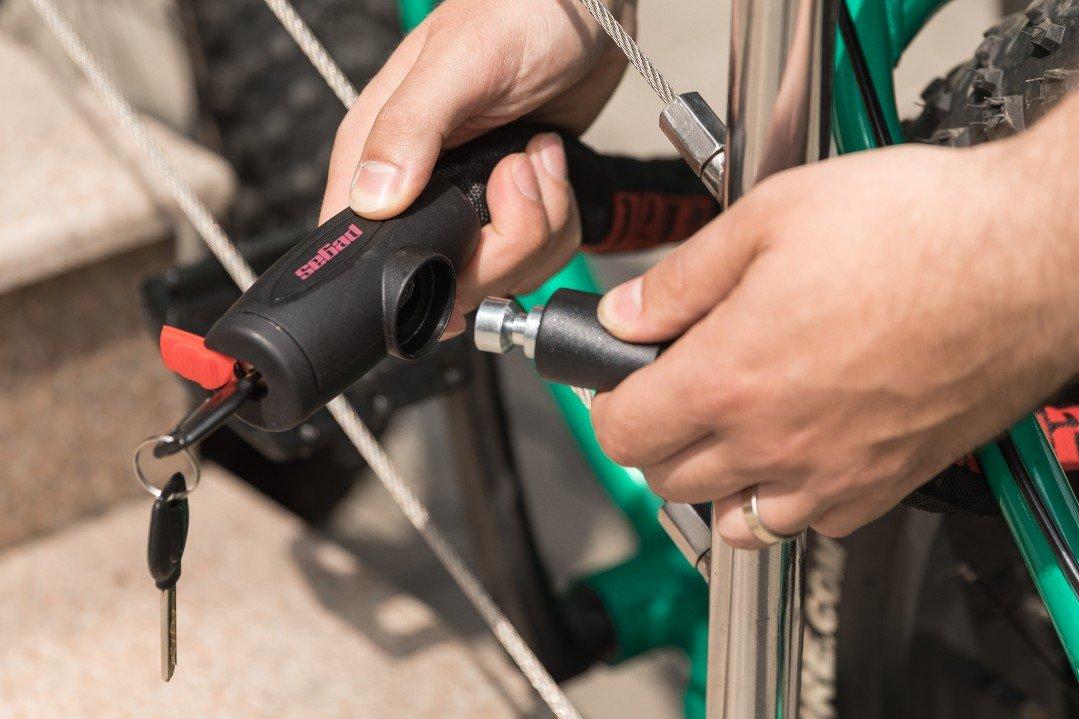 Kettenschloss 8,0 mm Schloss Motorrad Fahrrad Roller Moped Sicherheitsschloss