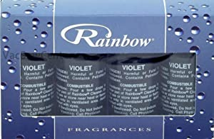 Rainbow Genuine Violet Fragrance Collection Pack for Rainbow and RainMate