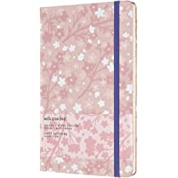 Moleskine Limited Edition Notebook Sakura Oriental, Large, Ruled, Silk Pink, Hard Cover (5 X 8.25)