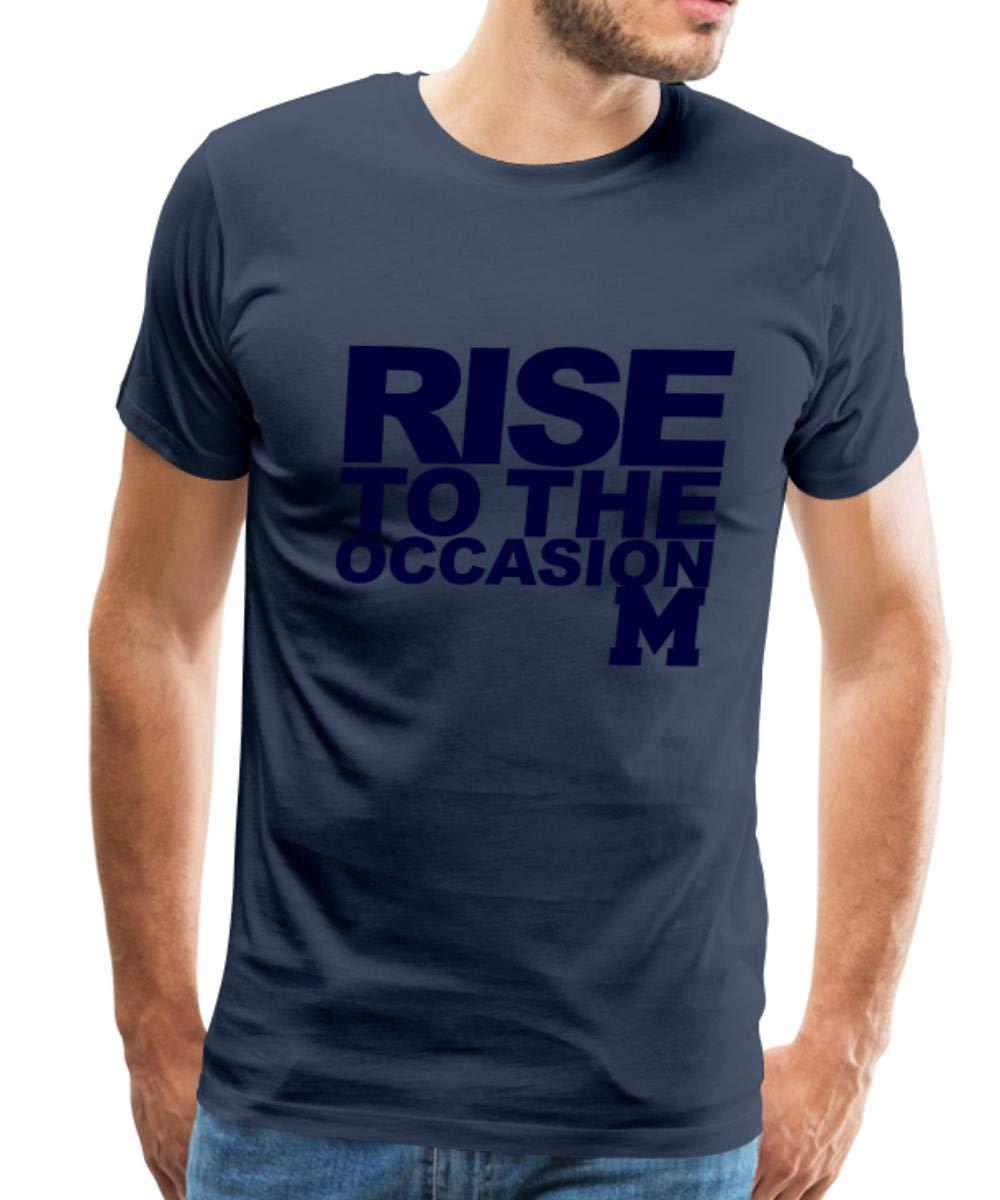Rise To The Occasion Michigan Premium T Shirt 4967