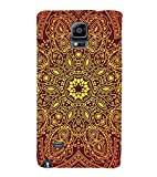 StudioArtz Rajasthani Handicrafts Wood Slim Fit Shock Proof Hard Polycarbonate Unique Matte Finish Printed Designer Mobile Phone Back Cover Case For Samsung Galaxy Note 4, Samsung Galaxy Note 4 N910G, Samsung Galaxy Note 4 N910F N910K/N910L/N910S N910C N910Fd N910Fq N910H N910G N910U N910W8