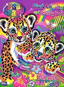 Amazon Com Lisa Frank Coloring Amp Activity A Magical World