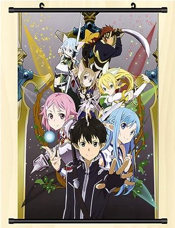 Amazon.com: Home Decor Anime Sword Art Online Sword Art ...