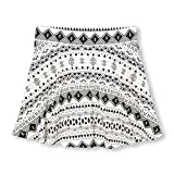 The Children's Place Big Girls' Skort, Simplywht 97618, XXL(16)