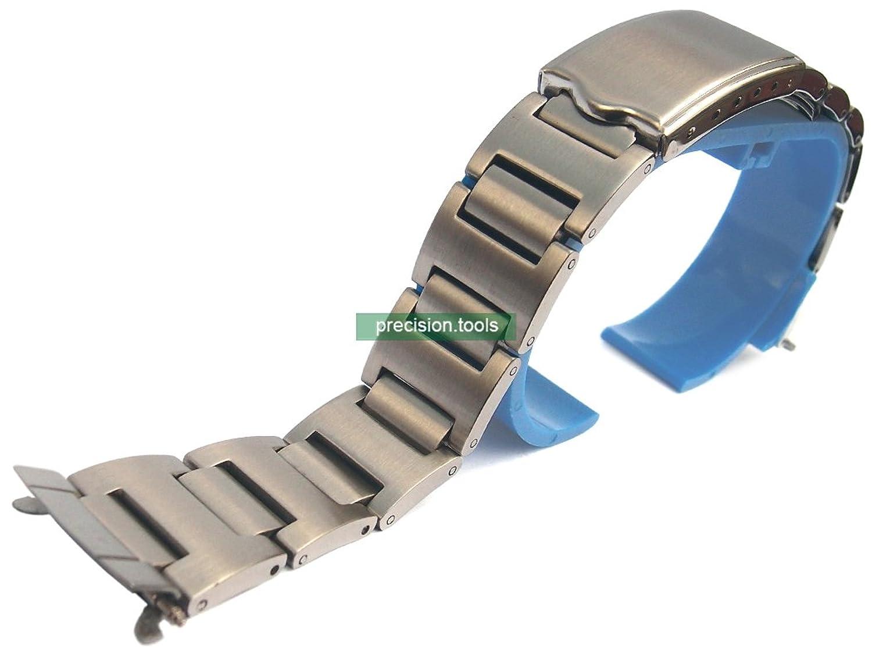 19mm 。 ステンレス製 。 Pouge 型 。 Scuba 6139-6002 6005 6009 。 交換用時計バンド  B01N3TKV2A