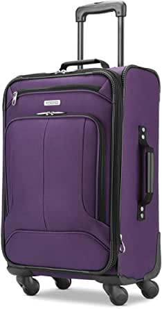 American Tourister Pop Max Softside Luggage Set with Multi-Directional Spinner Wheels, 3-Piece (SP21/25/29)