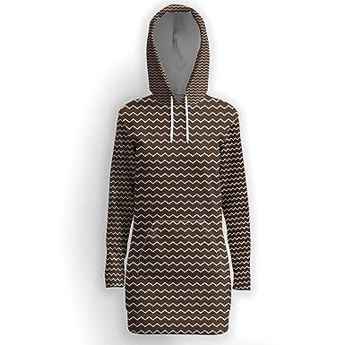 Amazon.com  Women s Long Sleeve Casual Hoodie Dress be08effa0d
