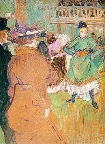 The Beginning of the Quadrille at the Moulin Rouge by Henri De Toulouse-Lautrec - 21