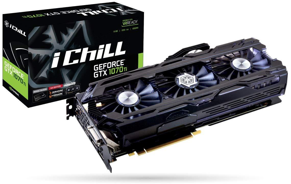 Inno3D C107T4-1SDN-P5DN - Tarjeta gráfica (GeForce GTX 1070 ...