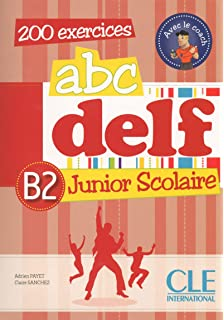 ABC DELF B2 junior scolaire (1DVD) (French Edition)
