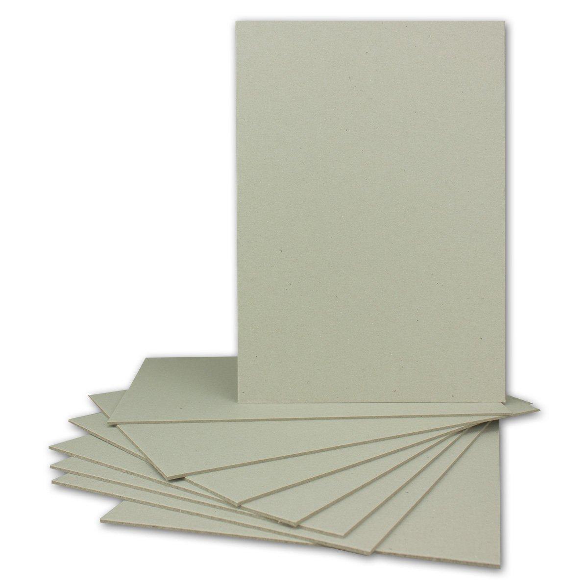 Neuser, cartone rigido per la rilegatura dei libri, formato A4 / A5 / A3 / C6 10 pezzi DIN A5 - 920 g/m² formato A4 / A5 / A3 / C6 10 pezzi DIN A5 - 920 g/m²