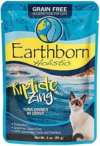 Earthborn Holistic Riptide Zing Grain-Free Moist Cat Food