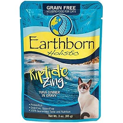 Earthborn Holistic Riptide Zing Grain Free Moist Cat Food, 3 Oz, Case Of 24
