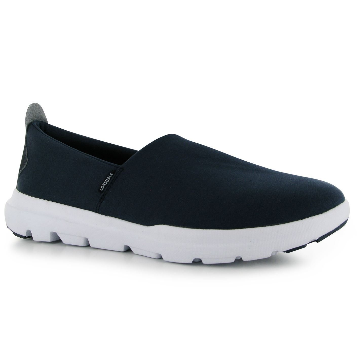 Lonsdale Mercury Slip On Trainers Mens Navy Casual Sneakers Shoes Footwear:  Amazon.co.uk: Sports & Outdoors
