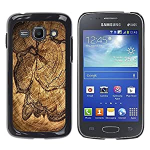 LECELL -- Funda protectora / Cubierta / Piel For Samsung Galaxy Ace 3 GT-S7270 GT-S7275 GT-S7272 -- Wood Pattern --