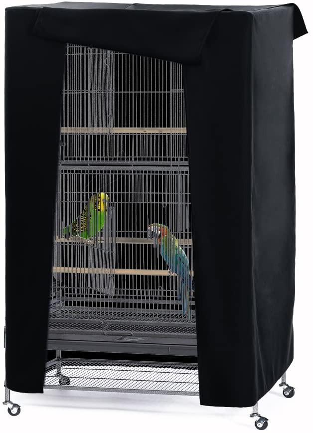 PONY DANCE Pets Product Universal Birdcage Cover Blackout & Breathable Material