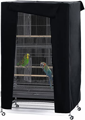 PONY DANCE Pets Product Universal Birdcage Cover Blackout Breathable Material