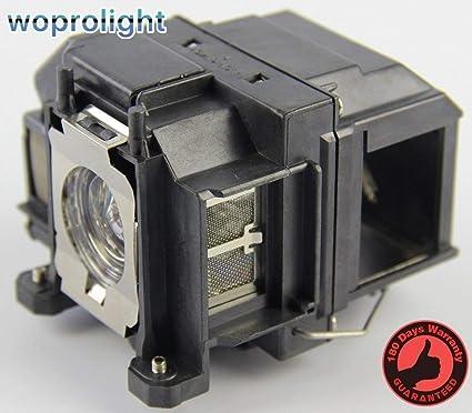 Wogon ELP LP67 V13H010L67 - Lámpara de repuesto con carcasa para ...