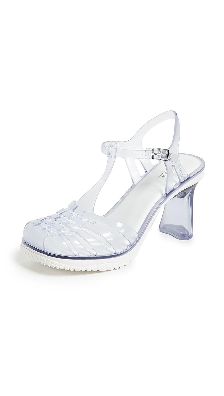 Melissa Women's Vixen Strappy Sandals B07BQ6RZ2S 6 M US Clear
