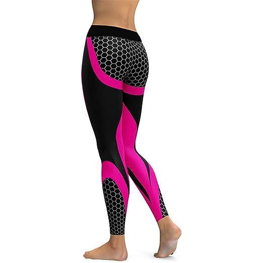Amazon.com: Women Mesh Yoga Pants Sports Leggings Fitness ...