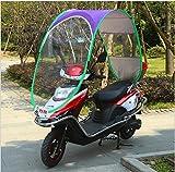Best Beach Chair Umbrellas - KWAN Motorcycle Canopy Motorbike Roof Motor Bicycle Sun Review