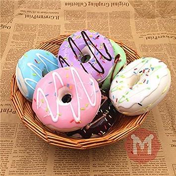 bureze 10 cm Cute Donuts Big Pan charms Kawaii Squishy suave ...