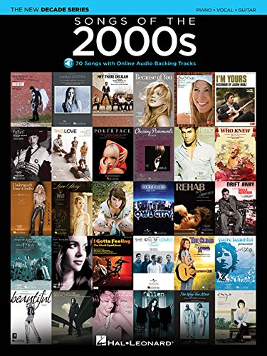 Songs of the 2000s: The New Decade Series with Online Play-Along Backing Tracks - Hal Leonard Backing Tracks